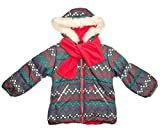 London Fog Baby Girls and Little Girls' Little Patches Puffer Jacket Coat