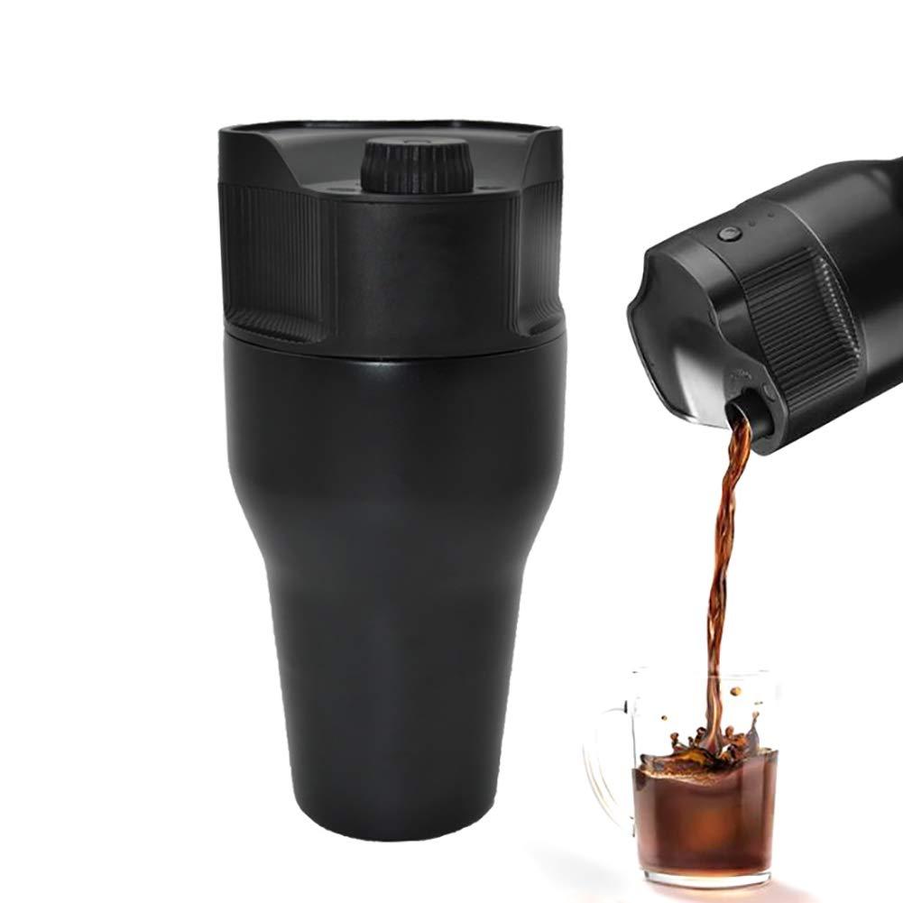 Acquisto NAttnJf Filtro da caffettiera per aspirapolvere elettrico portatile USB da viaggio 500ml per K-Cup Nero Prezzi offerta