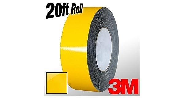 4 x 20ft roll VViViD 3M 1080 Black Gloss Vinyl Detailing Wrap Pinstriping Tape 20ft Roll