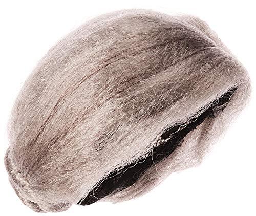 AMSCAN Grandma Wig Halloween Costume Accessories, Silver, One