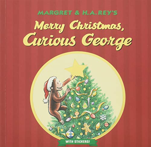 Merry Christmas, Curious George (with stickers) (Curious George Paper Wrapping)