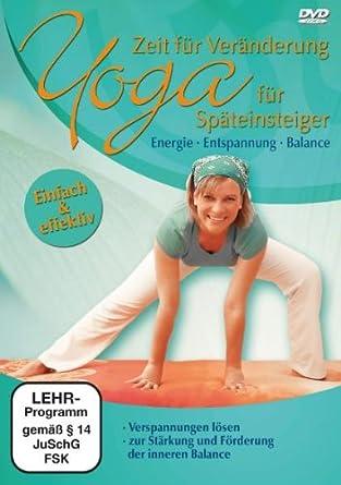 Yoga Fur Spateinsteiger Amazon De Various Dvd Blu Ray