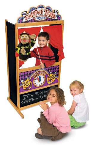 puppet theater imaginative play