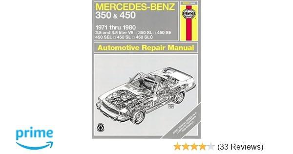 Mercedes benz 350 and 450 1971 80 haynes repair manuals haynes mercedes benz 350 and 450 1971 80 haynes repair manuals haynes 0038345006982 amazon books fandeluxe Choice Image