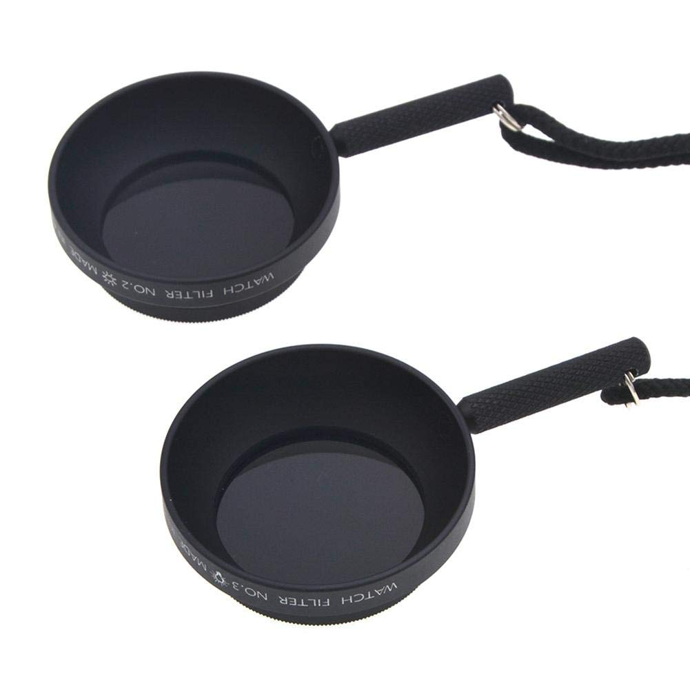 coreychen Professional Viewing Filters Viewing Mirrors Depth Viewfinder of Field Main and Sub-Light Reference Tools
