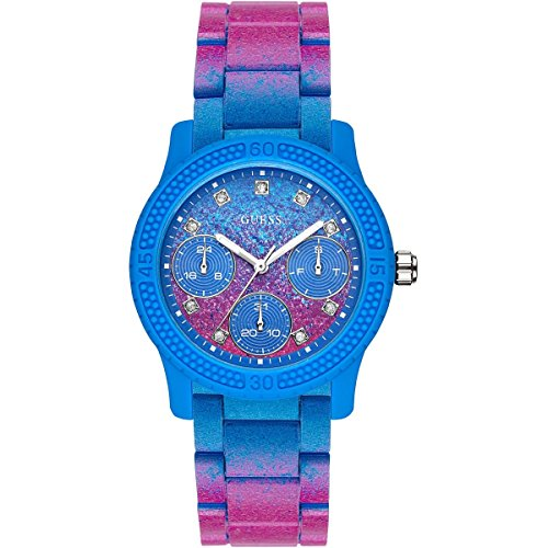 Guess Multi-function Blue Dial Women's Watches - ()