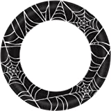 Halloween~Spider Web Paper Plate~40 Count~10''