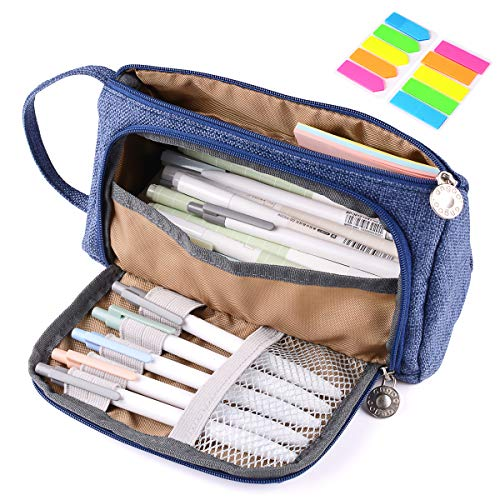 Pencil Case Bag, Yloves Big Capacity Pencil Pen Pouch Box Ho