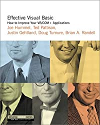 Effective Visual Basic: How to Improve Your VB/COM+ Applications