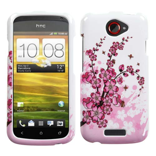 MYBAT Spring Flowers Phone Protector Cover for HTC One S ()