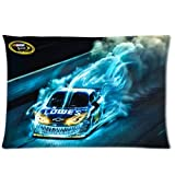 Jimmie Johnson Pillow Case - 20x30 inch One Side Pillowcase Pillow Covers with Jimmie Johnson NASCAR #48 HD Image
