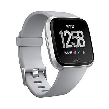 ced45d7c0 Fitbit Versa - Reloj Deportivo Smartwatch Deportivo, Unisex Adulto, Gris,  Talla Única: Fitbit: Amazon.es: Deportes y aire libre