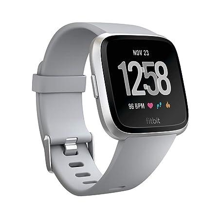 Fitbit Versa Smartwatch Deportivo, Gris: Fitbit: Amazon.es ...