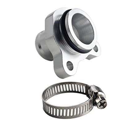 Amazon.com: Dewhel For BMW 335i 11537541992 11537544638 OEM Replacement Water Hose Fitting Replacement Aluminum (Silver): Automotive