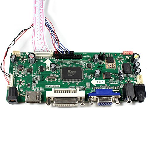 HDMI+VGA+DVI+Audio Input LCD Controller Board For LP156WH2 LP156WH4 15.6'' 1366x768 LED Backlight 40Pins LCD Panel by LCDBOARD (Image #2)'