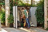 Keter High Store 4.5 x 2.5 Vertical Outdoor Resin