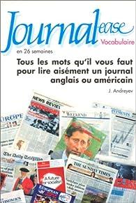Journal-ease : vocabulaire en 26 semaines par Judith Andreyev