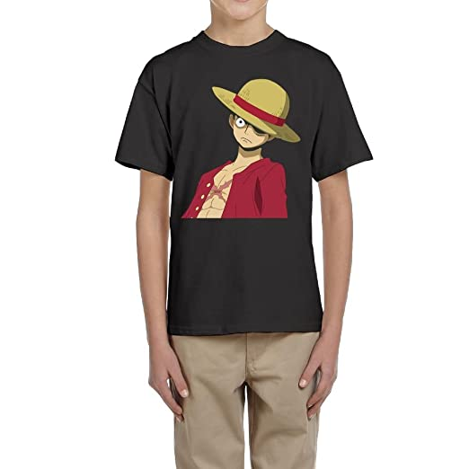 Amazon Com Aidear Big Boys Monkey D Luffy Haki Tees Clothing