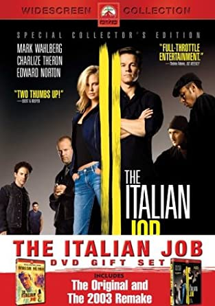 Amazoncom The Italian Job Gift Set Includes 1969 And 2003