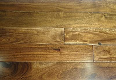 """Kingsport Acacia Toffee SOLID 3-5/8"""" Smooth Exotic Hardwood Flooring FH026 SAMPLE"""