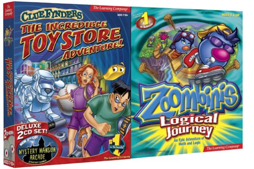 ClueFinders Toy Store Zoombinis Logical Journey product image