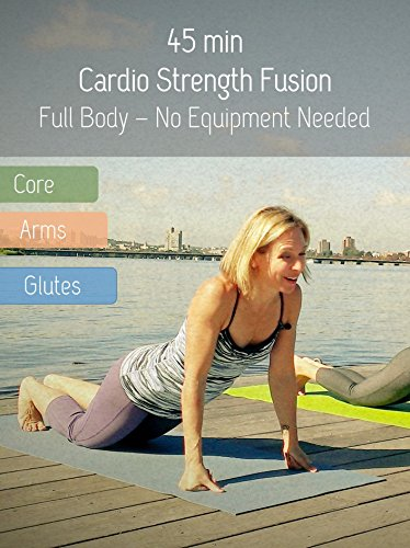 45 min Fitness Workout - Cardio-Strength Fusion with Yoga & Pilates Elements ()