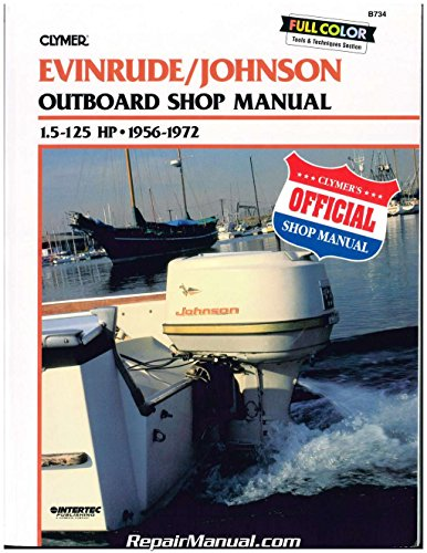 - Evinrude Johnson Outboard Shop Manual 1.5 to 125 Hp 1956-1972