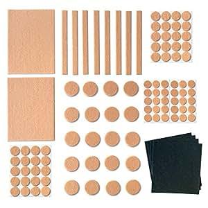 Furniture Pads for Hardwood Floors 100 Pack Self