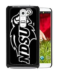 NCAA North Dakota 10 Black Hard Shell Phone Case For LG G2