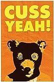 Fantastic Mr. Fox Poster, Cuss Yeah! Poster or Framed Print