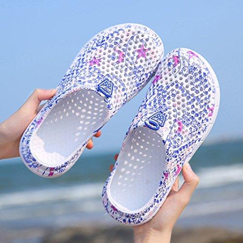 da SUADEEX e Ragazza da Donna Ciabatte Spiaggia Donna Mare Scarpe Traspirante Viola Zoccoli Slippers Sandali Clogs Beach Piscina Ciabatte Pantofola Scarpe gCanwqrg