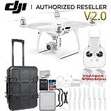 DJI Phantom 4 PRO V2.0/Version 2.0 Quadcopter Waterproof Rolling Case Essential Bundle