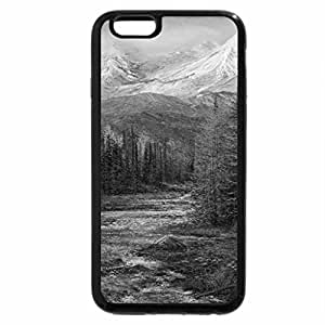 iPhone 6S Case, iPhone 6 Case (Black & White) - The westside of Rachel Valley