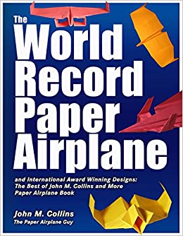 the world record paper airplane and international award winning