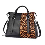 IBFUN Women Handbags Top Handle Bags PU Leather Purse Ladies Satchels Tote Bags