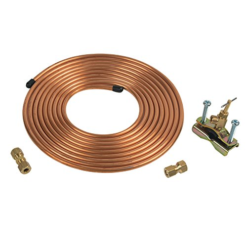 Copper Ice Maker / Humidifier Installation Kit by BrassCraft