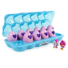 Jumpstart your collEGGtion with the Hatchimals CollEGGtible 12-Pack Egg Carton! Inside a pretty teal case are 10 in-egg and two out-of-egg Hatchimals CollEGGtibles! You'll even find one of two exclusive Flamingeese in this set! Use the case t...
