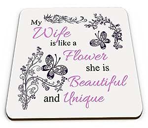 Mi esposa flashsellerz es como una montaña taza brillante flor