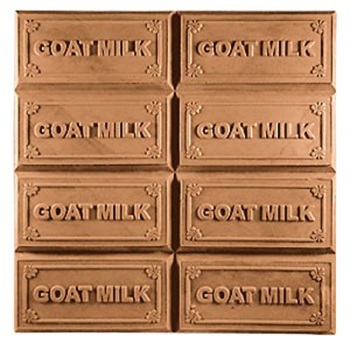 Milky Way Goat Milk - Goats Milk Soap Mold (MW 21) -  Milky Way. Melt & Pour, Cold Process w/ Exclusive Copyrighted Full Color Cybrtrayd Soap Molding Instructions in a Sealed Poly Bag