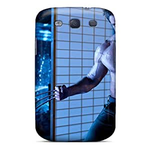 High-quality Durable Protection Case For Galaxy S3(hugh Jackman In The Wolverine)