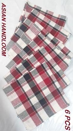 Kitchen napkin/cloth,table duster 45.72 x 48.2 Cms (Pack of 6) Superior Quality,FREE SHIPPING