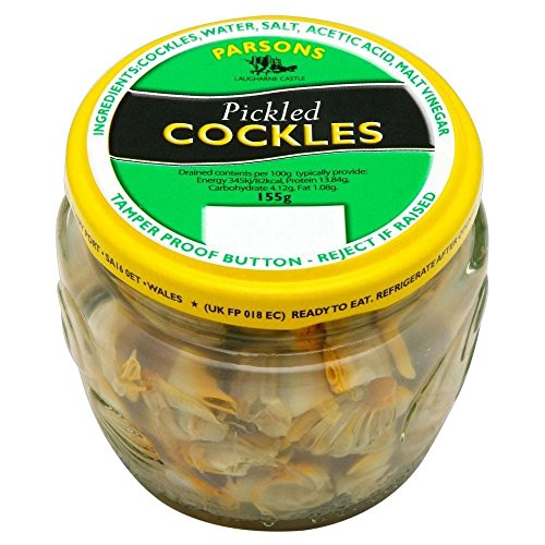 Parsons Welsh Pickled Cockles (155g) - Pack of 2