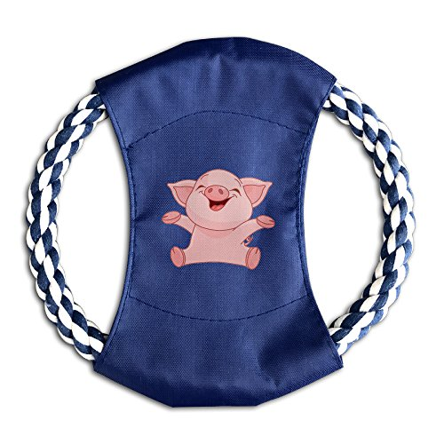 Dog Flying Happy Pig Pet Whirlwheel Flying Disk Dog Chew Toy
