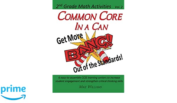 Common Core in a Can! 2nd Grade Math Vol  2: Get More BANG
