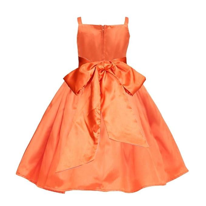 Amazon.com: Vestido de fiesta para niña, diseño de flores ...