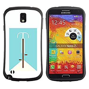 Suave TPU GEL Carcasa Funda Silicona Blando Estuche Caso de protección (para) Samsung Note 3 / CECELL Phone case / / bicycle life /