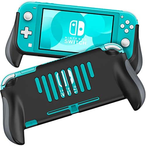 MEQI Grip Case Compatible with Nintendo Switch Lite, [2020 New Designed] Comfortable and Ergonomic Gaming Portable Protective Handheld Cover – Accessories for Switch Lite Console 2019 Release