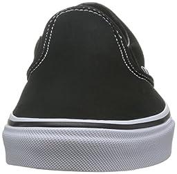 Vans Unisex Classic Slip-On Loafer Black Size 12 M US Women / 10.5 M US Men