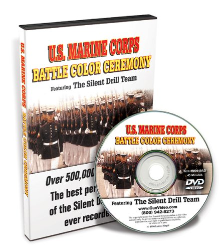 U.S. Marine Corps Battle Color Ceremony Featuring The Silent Drill Team DVD ()