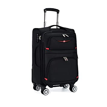 f419add9bf73 Amazon.com: HONGNA Travel Luggage Four Round Multi-function Daily ...